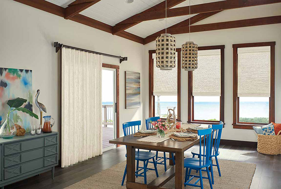 Coastal design style in a kitchen