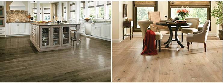 Armstrong hardwood floors kitchen dining room